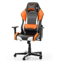 Кресло DXRacer OH/DM61/NWO Drifting Series, компьютерное, экокожа, цвет черный/белый/оранжевый