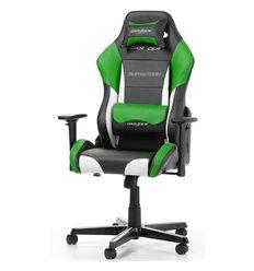 Кресло DXRacer OH/DM61/NWE Drifting Series, компьютерное, экокожа, цвет черный/белый/зеленый