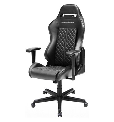Кресло DXRacer OH/DH73/N Drifting Series, компьютерное, экокожа, цвет черный