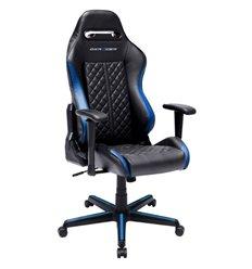 Кресло DXRacer OH/DH73/NB Drifting Series, компьютерное, экокожа, цвет черный/синий