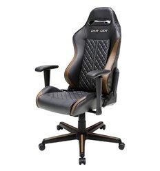 Кресло DXRacer OH/DH73/NC Drifting Series, компьютерное, экокожа, цвет черный/коричневый