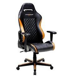 Кресло DXRacer OH/DH73/NO Drifting Series, компьютерное, экокожа, цвет черный/оранжевый