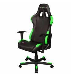 Кресло DXRacer OH/FD99/NE Formula Series, компьютерное, экокожа, цвет черный/зеленый