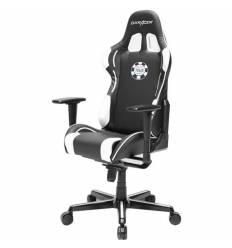Кресло DXRacer OH/FY181/NW/POKER Formula Series, компьютерное, цвет черный/белый