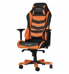 Кресло DXRacer OH/IS166/NO Iron Series, компьютерное, экокожа, цвет черный/оранжевый