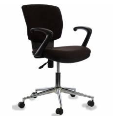 Кресло Бюрократ CH-636AXSL/BROWN для оператора, ткань, цвет темно-коричневый