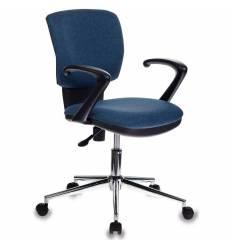 Кресло Бюрократ CH-636AXSL/DENIM для оператора, ткань, цвет синий