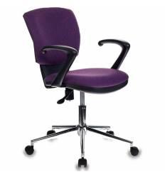 Кресло Бюрократ CH-636AXSL/VIOLET для оператора, ткань, цвет фиолетовый