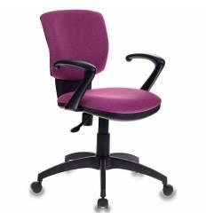 Кресло Бюрократ CH-636AXSN/BERRY для оператора, ткань, цвет розовый