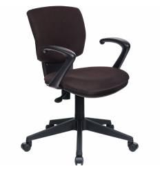 Кресло Бюрократ CH-636AXSN/BROWN для оператора, ткань, цвет темно-коричневый