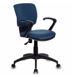 Кресло Бюрократ CH-636AXSN/DENIM для оператора, ткань, цвет синий