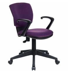 Кресло Бюрократ CH-636AXSN/VIOLET для оператора, ткань, цвет фиолетовый