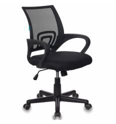 Кресло Бюрократ CH-695/BLACK для оператора, цвет черный, спинка сетка