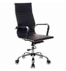 Кресло Бюрократ CH-883/BLACK для руководителя, экокожа, цвет черный