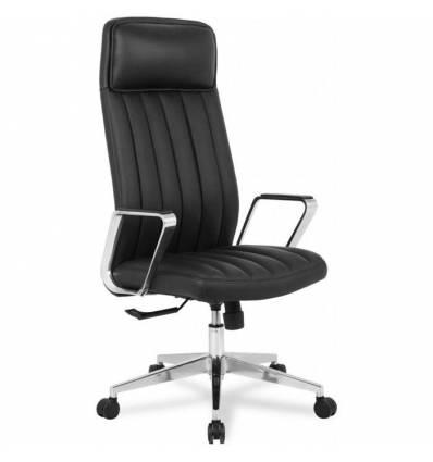 Кресло College HLC-2413L-1/Black для руководителя, экокожа, цвет черный