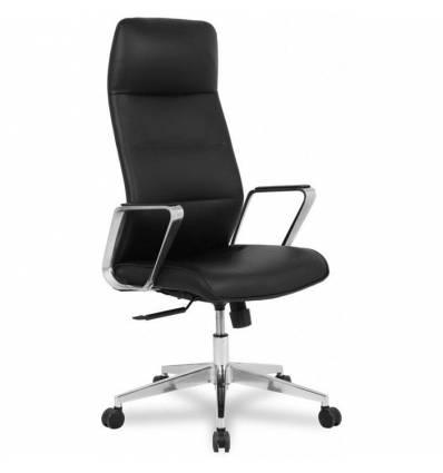 Кресло College HLC-2415L-1/Black для руководителя, экокожа, цвет черный