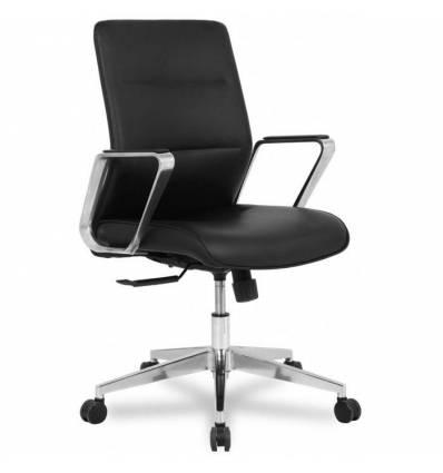 Кресло College HLC-2415L-2/Black для руководителя, экокожа, цвет черный