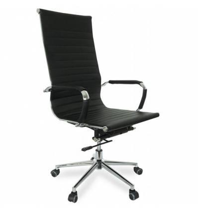 Кресло College CLG-621-A/Black для руководителя, экокожа, цвет черный