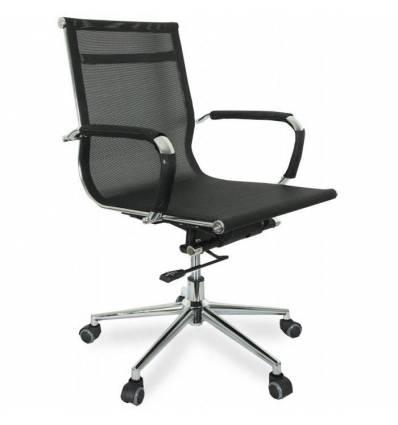 Кресло College CLG-622-B/Black для руководителя, сетка, цвет черный