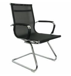 Кресло College CLG-622-C/Black для посетителя, сетка, цвет черный