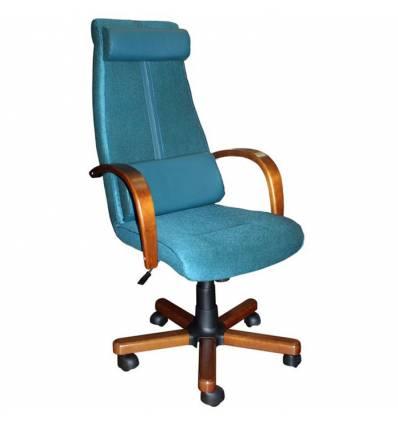 Кресло Стиль Атос дерево для руководителя