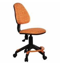 Кресло Бюрократ KD-4-F/GIRAFFE детское, цвет оранжевый жираф