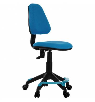Кресло Бюрократ KD-4-F/TW-55 детское, цвет голубой