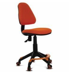 Кресло Бюрократ KD-4-F/TW-96-1 детское, цвет оранжевый