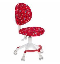 Кресло Бюрократ KD-W6-F/ANCHOR-RD детское, цвет красный якоря
