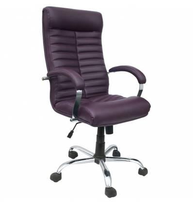 Кресло Стиль Браво хром для руководителя