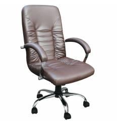 Кресло Стиль Вадер хром для руководителя