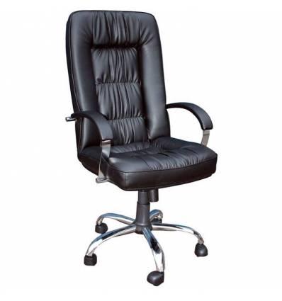 Кресло Стиль Граф хром для руководителя
