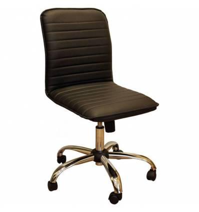 Кресло Стиль Капри хром для оператора, без подлокотников