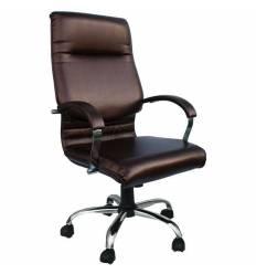 Кресло Стиль Классик хром для руководителя