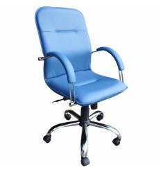 Кресло Стиль Лотос хром для руководителя