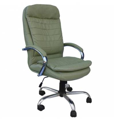Кресло Стиль Поло хром для руководителя