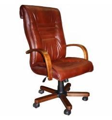 Кресло Стиль Сенатор дерево для руководителя