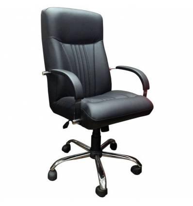 Кресло Стиль Сонет хром для руководителя