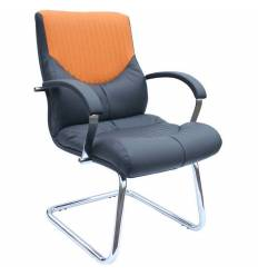 Кресло Стиль Гермес/О хром для посетителя