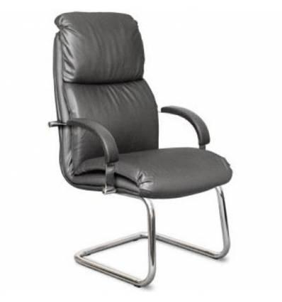 Кресло Стиль Дарв/О хром для посетителя