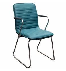 Кресло Стиль Капри хром для посетителя