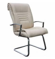 Кресло Стиль Сенатор/О хром для посетителя