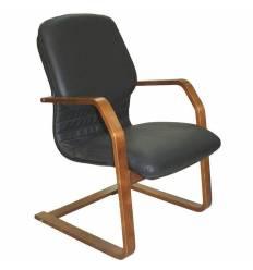 Кресло Стиль Электра/О дерево для посетителя