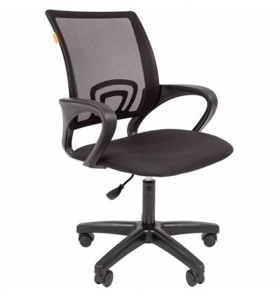 Кресло CHAIRMAN 696 LT/BLACK для оператора, сетка/ткань, цвет черный