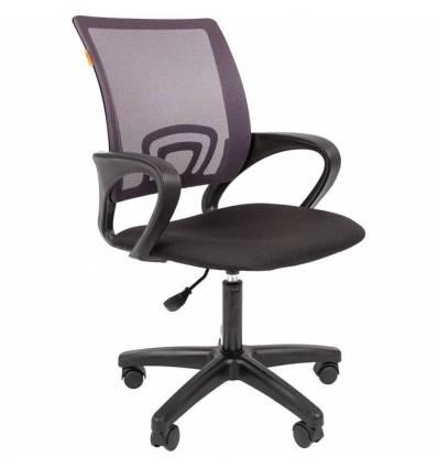 Кресло CHAIRMAN 696 LT/GREY для оператора, сетка/ткань, цвет серый/черный