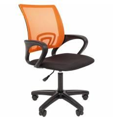 Кресло CHAIRMAN 696 LT/ORANGE для оператора, сетка/ткань, цвет оранжевый/черный