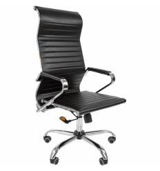 Кресло CHAIRMAN 701 ЭКО для руководителя, экокожа, цвет черный