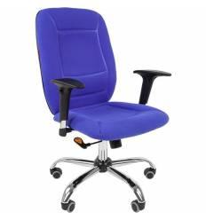 Кресло CHAIRMAN 888/Blue для оператора, ткань, цвет синий
