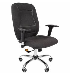Кресло CHAIRMAN 888/Grey для оператора, ткань, цвет серый