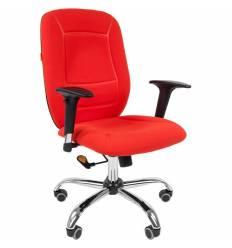 Кресло CHAIRMAN 888/Red для оператора, ткань, цвет красный